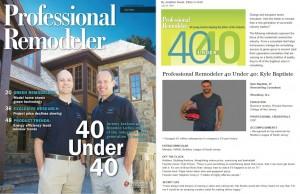 40 under 40 kyle baptiste next level remodeling south jersey remodeler