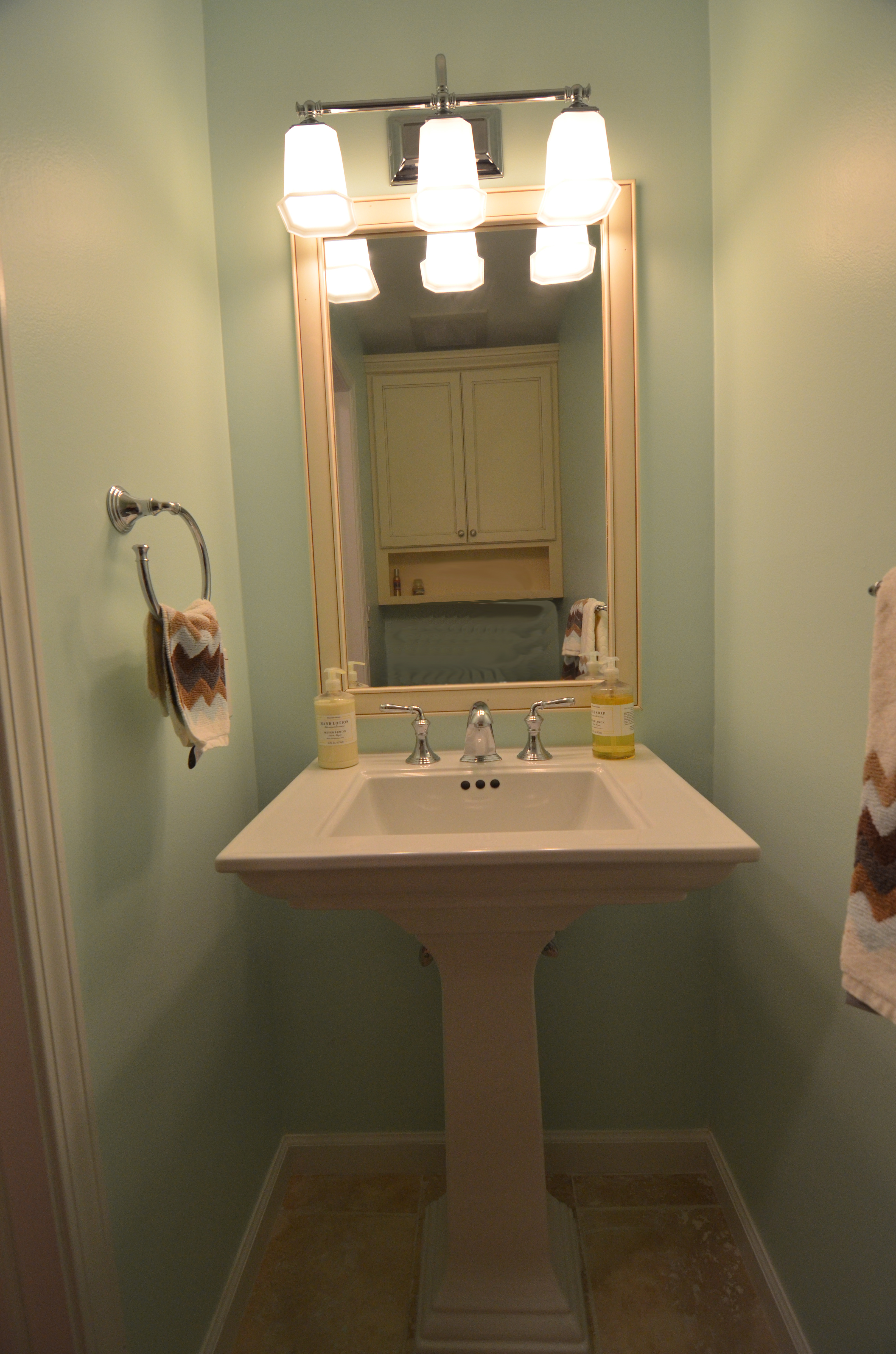 Powder Room Renovation In Galloway Nj Next Level Remodeling