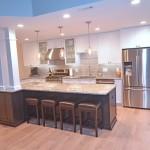 Kitchen island remodeling