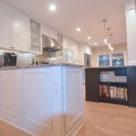 closeup of kitchen remodel