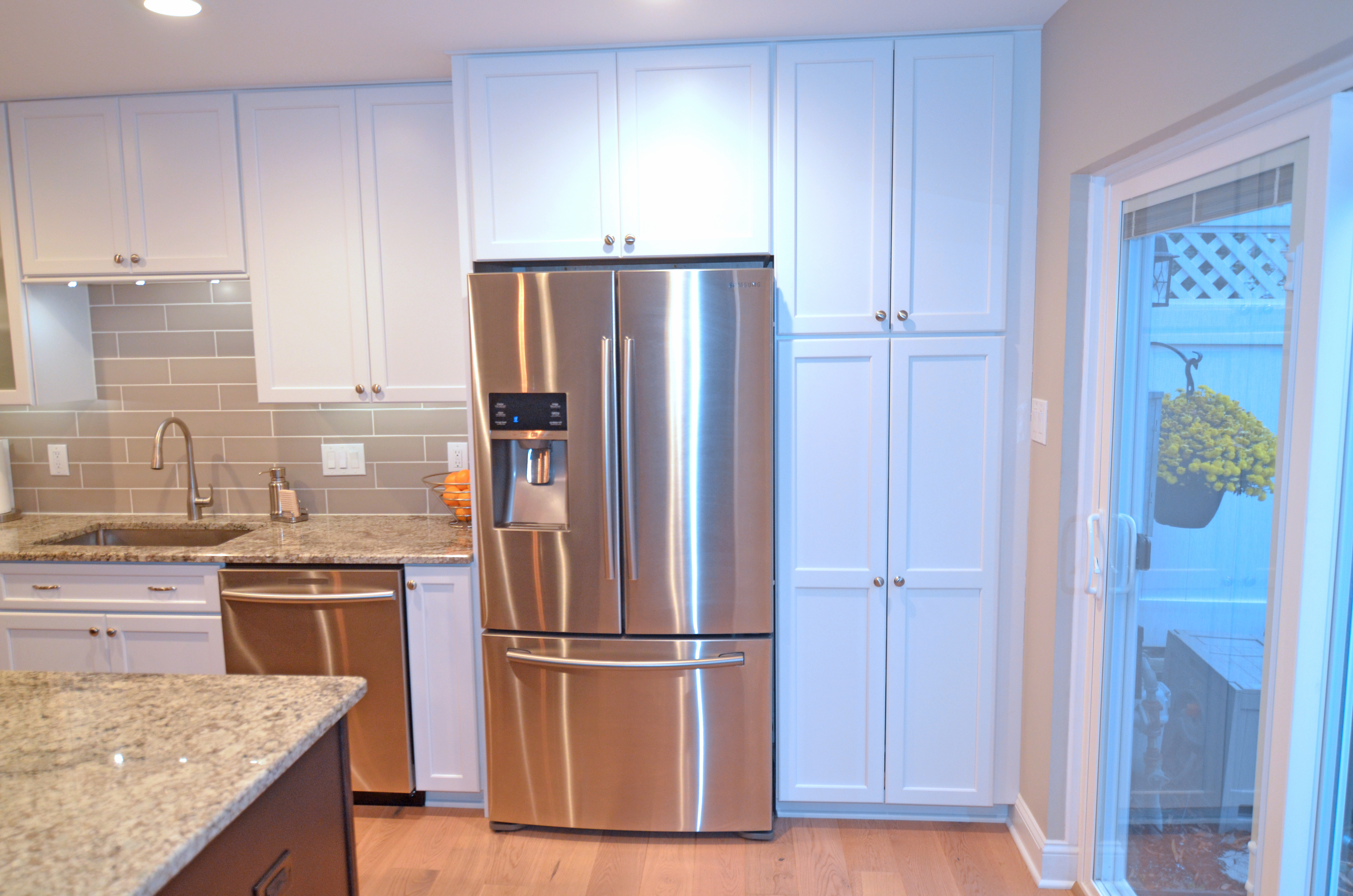 Pantry And Refrigerator Cabinet Next