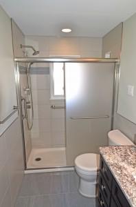master suite shower renovation