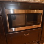 build in microwave for this kitchen remodel